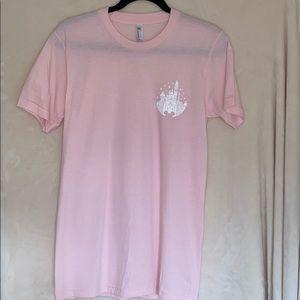 "Club 55 ""Welcome"" Pink Disneyland T-Shirt"